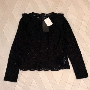 NWT Zara Lace Blouse